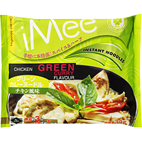 iMee Instant Noodles Chicken Green Curry Flavor