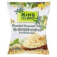 King Island Roasted Coconut Chips
