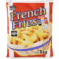 French Fries (Natural Wedges)